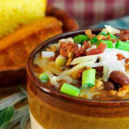 Sweet-Potato-Turkey Chili