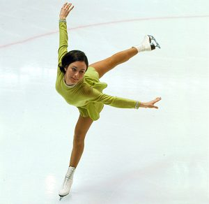Peggy Fleming At 1968 Olympics