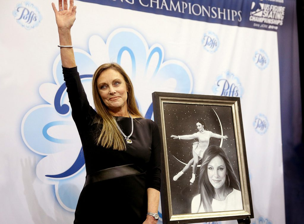 High Quality Fifty Years After Her Olympic Gold In Figure Skating, The 69 Year Old Is  Just As Motivated To Stay Active And Fit. Peggy Fleming In 2018