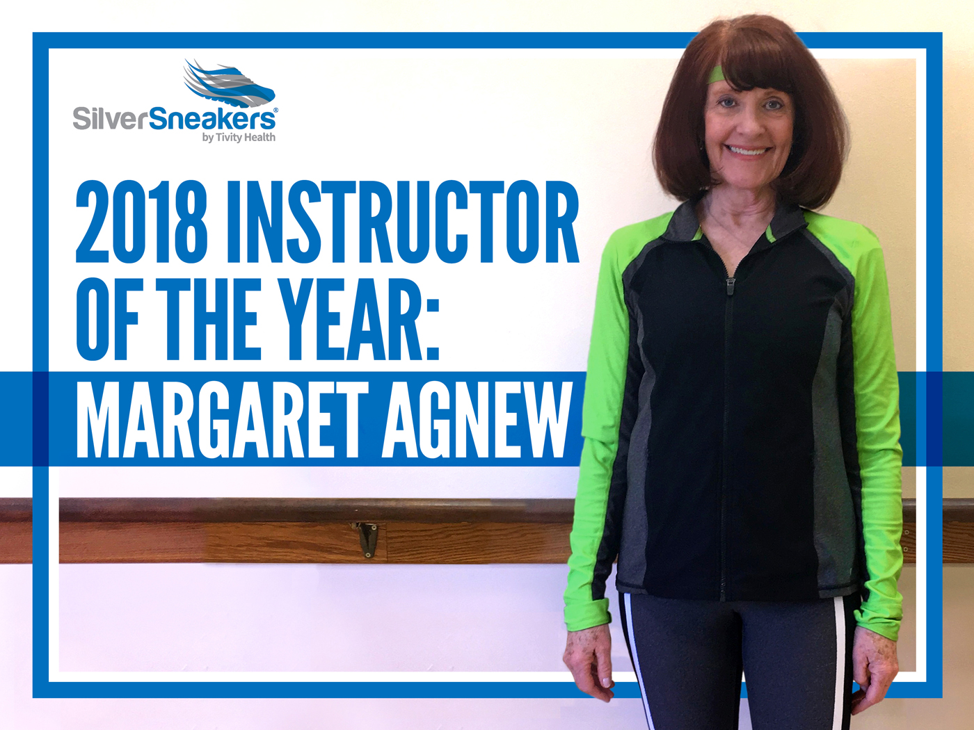 SilverSneakers 2018 Instructor of the Year Winner Margaret Agnew