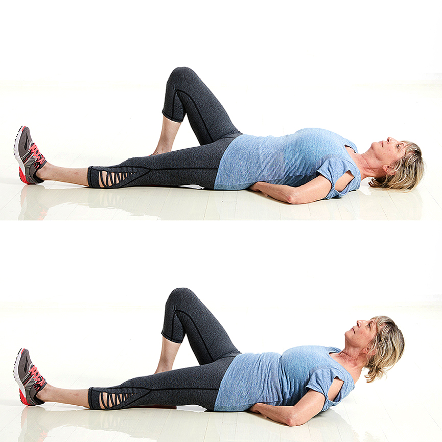 Modified Curl Up Exercise