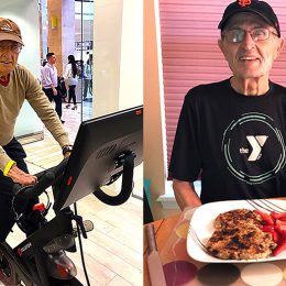 Ben Mathews, 80, Is a Walking Billboard for the Power of Exercise