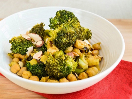 Curried Broccoli and Chickpea Sauté