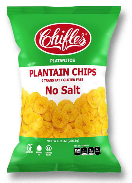 Chifles No Salt Plantain Chips