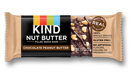 KIND Nut Butter Filled Chocolate Peanut Butter Snack Bar