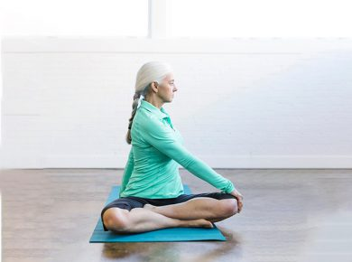 4 Gentle Yoga Poses for Better Sleep